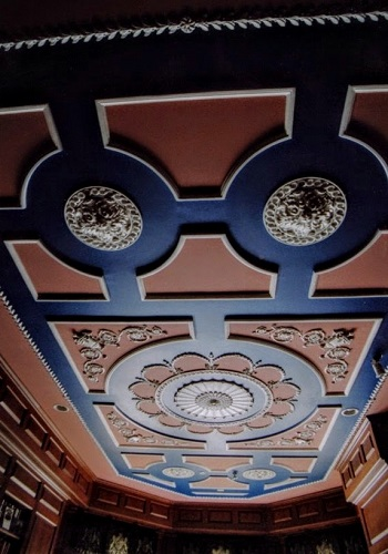 decorative plaster office ceiling